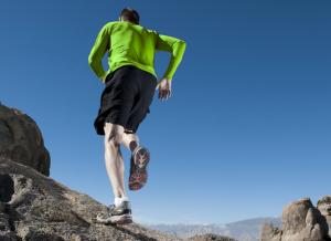 Skinlägg vid löpning